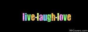 live laugh love Facebook Cover Photo