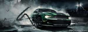 mustang monster Facebook Cover Photo