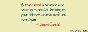 true friend Facebook Cover Photo