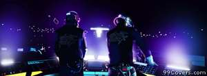 Music daft punk music bands Facebook Cover Photo