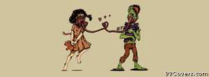 Zombie love boyfriend Facebook Cover Photo