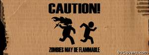 Zombies funny Facebook Cover Photo