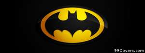 Batman symbol Facebook Cover