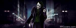 Joker batman city Facebook Cover Photo