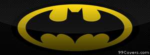 Batman logo 2 Facebook Cover Photo