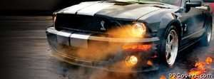 mustang Facebook Cover Photo