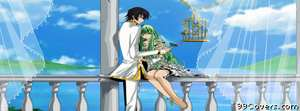 Code geass anime black hair boy code geass couple  Facebook Cover Photo