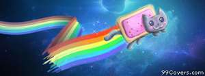 nyan cat 1 Facebook Cover Photo
