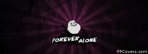 forever alone Facebook Cover Photo