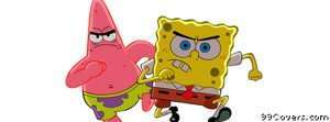 spongebob and patrick Facebook Cover Photo