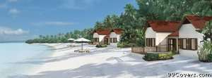 beach houses Facebook Cover Photo
