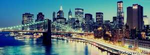 brooklyn bridge manhattan Facebook Cover Photo
