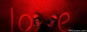 love shoe v Facebook Cover Photo