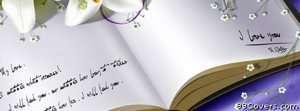 love you book Facebook Cover Photo