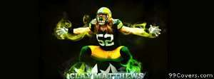 clay matthews green bay packers Facebook Cover Photo