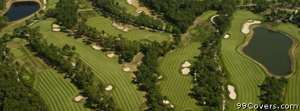 golf course arial Facebook Cover Photo