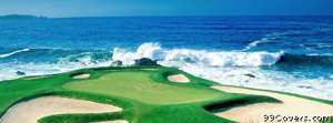 ocean golfing Facebook Cover Photo