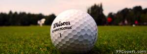 wilson golf ball Facebook Cover