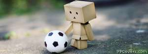 soccer danbo Facebook Cover Photo