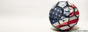 usa soccer ball Facebook Cover Photo