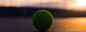 tennis ball Facebook Cover Photo