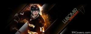 anaheim ducks lubomir isnovsky Facebook Cover Photo