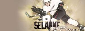 anaheim ducks selanne Facebook Cover Photo