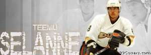 anaheim ducks teamu selanne Facebook Cover Photo
