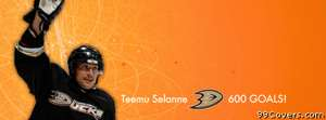 anaheim ducks teemu selanne Facebook Cover Photo