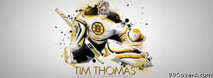 boston bruins tim thomas Facebook Cover Photo