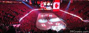 calgary flames hockey rink Facebook Cover Photo