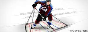 colorado avalanche matt ducnene Facebook Cover Photo
