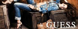 guess jeans Facebook Cover Photo