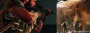 Call of Duty Black Ops black ops woods vs vitnames Facebook Cover Photo