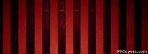 red and black stripes Facebook Cover Photo