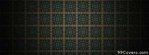 green and yellow checkered pattern Facebook Cover Photo