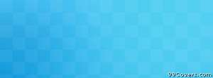 aqua blue checkered pattern Facebook Cover Photo