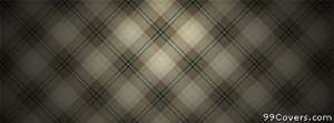 beige plaid Facebook Cover Photo