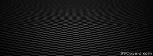 black checkered pattern Facebook Cover Photo
