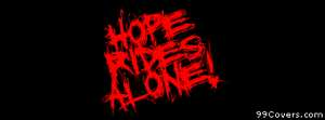 hope rides alone 2 Facebook Cover Photo