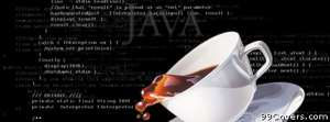 geek programming java coffee Facebook Cover Photo