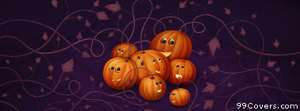 halloween pumpkins 2 Facebook Cover