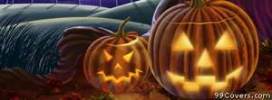 halloween pumpkins 3 Facebook Cover
