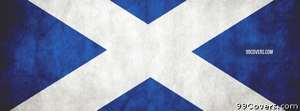 scottish flag Facebook Cover Photo