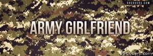 army girlfriend Facebook Cover Photo