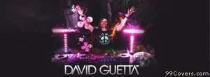 david guetta DJ Facebook Cover Photo