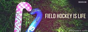 field hockey is life Facebook Cover Photo