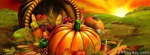 thanksgiving field pumpkin Facebook Cover