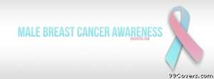 Male Breast Cancer Awareness Facebook Cover