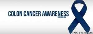 Colon Cancer Awareness Facebook Cover Photo